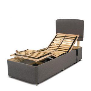 Sleepeezee Adjustable Bed In Grey