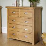Oak Chest – Woburn 5 Drawer