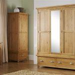 Oak Wardrobe – Woburn 3 Door