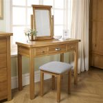 Oak Dressing Table – Woburn 3 Drawer Dressing Table