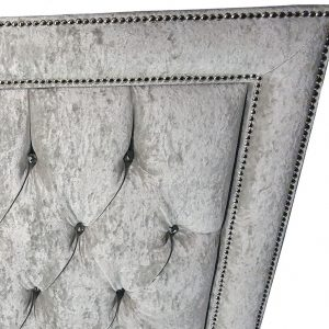 henley headboard studding detail