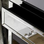 Glass Dressing Table – Valencia 2 Drawer Dressing Table