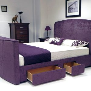 Avignon TV Bed Showing Drawers