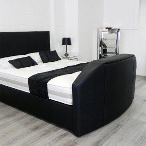 Enfield TV Bed In Black
