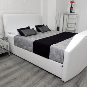 Enfield TV Bed In White