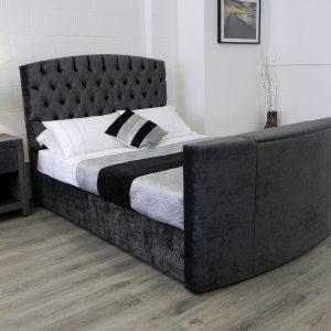 Sophia TV Bed In Black
