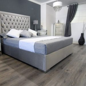 Henley-Adjustable-Bed-In-Grey-Fabric